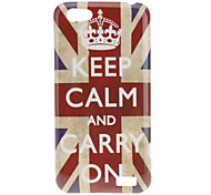Crown UK Flag Pattern Hard Case for HTC One V