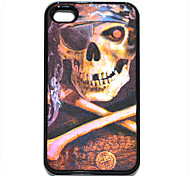 Piraten-Schädel-Muster-harter Fall für iPhone4/4S