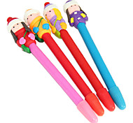 Winter Cute Kids Polymer Clay Pen (Random Color)