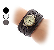 Women's Watch Vintage Leather Band Cool Watches Unique Watches