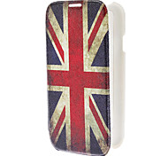 UK Flag Pattern Full Body PU Leather Protective Case for Samsung Galaxy S4 I9500