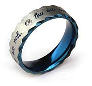 Eruner®Men's Titanium Steel Drawing Ring(Random Sizes)
