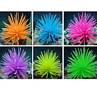 Rubber Artificial Soft Coral Decoration for Fish Tank Aquarium (Assorted Colors)