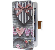 PU Full Body Case with Card Slot and PC Back Cover for iPhone 5/5S