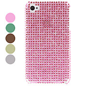 Solid Color Strass Hard Case für iPhone 4/4S (verschiedene Farben)