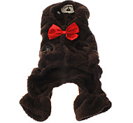 Bowknot Bear Style Cosplay Suit for Dogs Cats