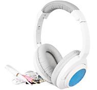 KEENION On-Ear-Kopfhörer mit Mikrofon und Fernbedienung KDM-915 (Blau, Lila, Rot)