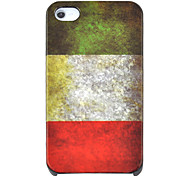 Vintage Italy Pattern Hard Case for iPhone 4/4S