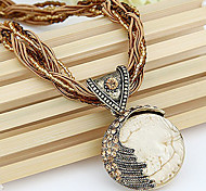 Pure Manual Bohemia Style Restoring Ancient Ways Charming Mediterranean Necklace