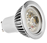 GU10 3W 210-250LM 2700-3500K luz blanca cálida LED del bulbo del punto (110-240V)