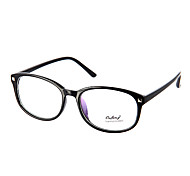 Women's Transparent Lens Cat Eye Eyeglasses (Green,Orange,Brown,Black)