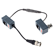 Video/Audio/Power Balun with DC Female and DC Male500M 10CM