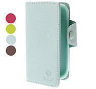 PU Leather Case with Card Slot for Samsung Galaxy S3 mini I8190 (Assorted Colors)
