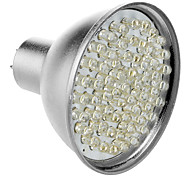 GU5.3 3.5W 60-LED 320-360LM 6000-6500K Natural White LED Bulb Pontual (12V)