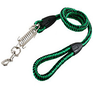 Polyester Large Sized Dog Leash with Spring Hook (100cm/39inch, Green)