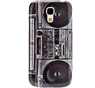 Diseño del patrón caso duro durable Radio Retro para Samsung Galaxy S4 Mini I9190