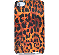 Sexy Leopard Pattern Hard Case for iPhone 4/4S