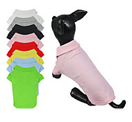 2-button Blank POLO Shirt for Dogs