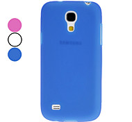 Etui TPU pour Samsung Galaxy S4 Mini I9190