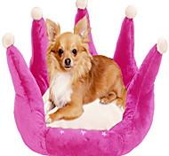 Anmutige Crown Form Hundebett 45x45cm (verschiedene Farben)
