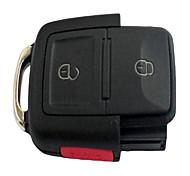 3 clés de voiture à télécommande Shell Key Case pour Volkswagen Passat