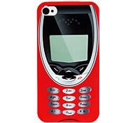 Caso del modello retro del cellulare tecnologia IMD duro per il iPhone 4/4S