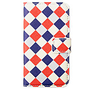 Plaid Pattern Full Body Case for iPhone 4/4S