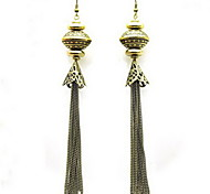 Fashion Alloy With Fringe Drop Earrings