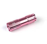 sèche-ongles portable batterie lampe de poche LED lampe en forme (couleurs assorties)