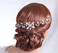 Women's Alloy Headpiece-Wedding Special Occasion Flowers