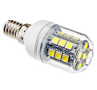 3W E14 LED Corn Lights T 27 SMD 5050 190 lm Natural White AC 220-240 V