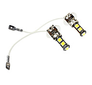 H3 Car White 4W 6000-6500 Fog Light