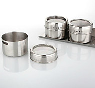 Stainless Steel Magnetic Seasoning Shaker Sets