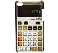 Old-fashioned Calculator Pattern Hard Case for iPod touch 4