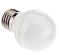 E27 3W 6X5730SMD 230LM 3000K lumière blanche chaude LED BALL Blub (220-250V)