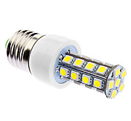 6W E26/E27 Ampoules Maïs LED 30 SMD 5050 500 lm Blanc Naturel Gradable AC 85-265 V