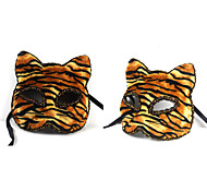 Tiger Halloween Animal Mask Half Face Mask