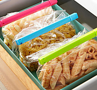Alimentos Clips sello de vacío Colotful (6-Pack)