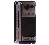 Patrón Radio Retro IMD caso duro de Tecnología para el iPod touch 5