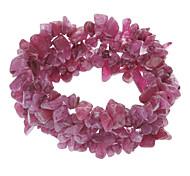 Purple Crystal Jade Pulsera elástica