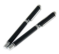 Extra-fine Silver Edge Fountain Pen(Black)