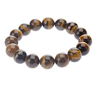 Bright Dazzles Tigereye Beaded Bracelet
