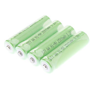 BTY 2500mAh AA Battery (Green, 4pcs)