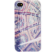 Western Fresco Pattern Hard Case for iPhone 4/4S