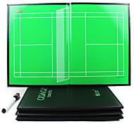 Sports Indoor Magnetic Badminton Coaching Board(2Pens+Board Eraser+Magnets)