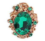 Vintage Water-Drop Gemstone Ring(Assorted Color)