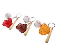 Baseball Set Style Keychain (Random Color)