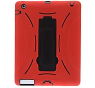 Defender Series Hybrid Case with Stand for iPad 2/3/4 (Optional Colors)