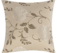"18"" Square Country Floral Decorative Pillow Cover"