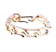 lureme®gold покрытием акриловой цепной браслет